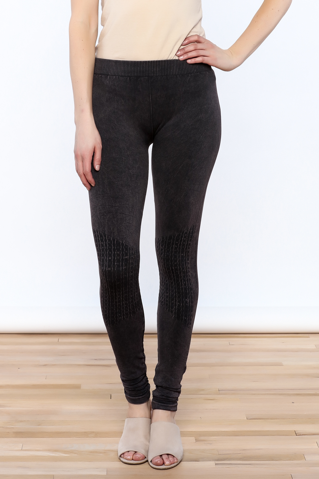 LHTX Charcoal Gray Leggings from Delaware by The Gift Horse u2014 Shoptiques