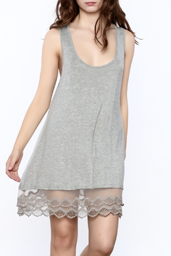 Shoptiques Product: Grey Jersey Dress