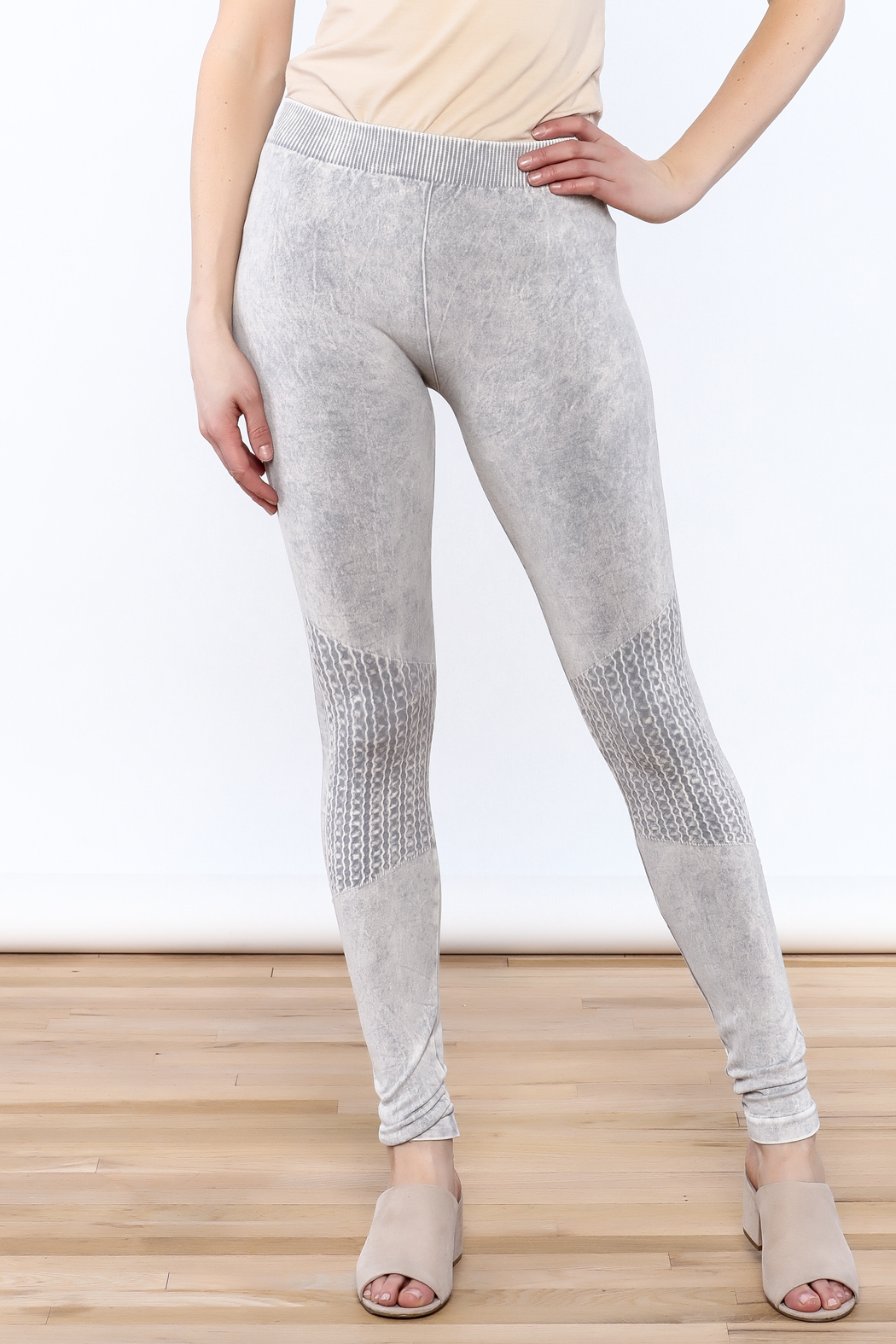 LHTX Light Gray Leggings from Delaware by The Gift Horse u2014 Shoptiques