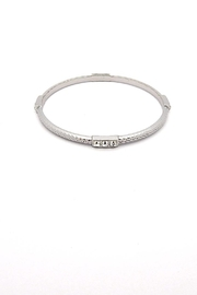 Lia Sophia  Tri Gem Bangle Bracelet - Product Mini Image