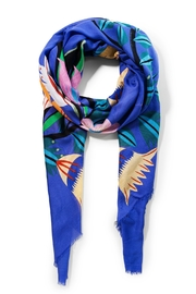 DESIGUAL Liana Blue Scarf - Front cropped