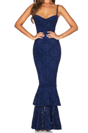 Nookie Liana Lace Gown - Front cropped