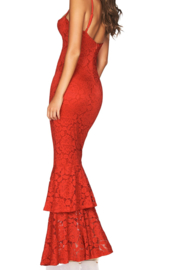 Nookie Liana Lace Gown - Front full body