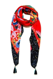 DESIGUAL Liana Red Scarf - Product Mini Image