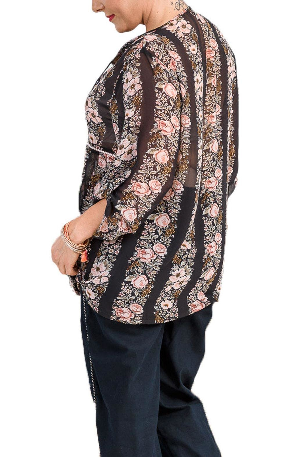 Libertine Black Orchid Blouse - Front Full Image