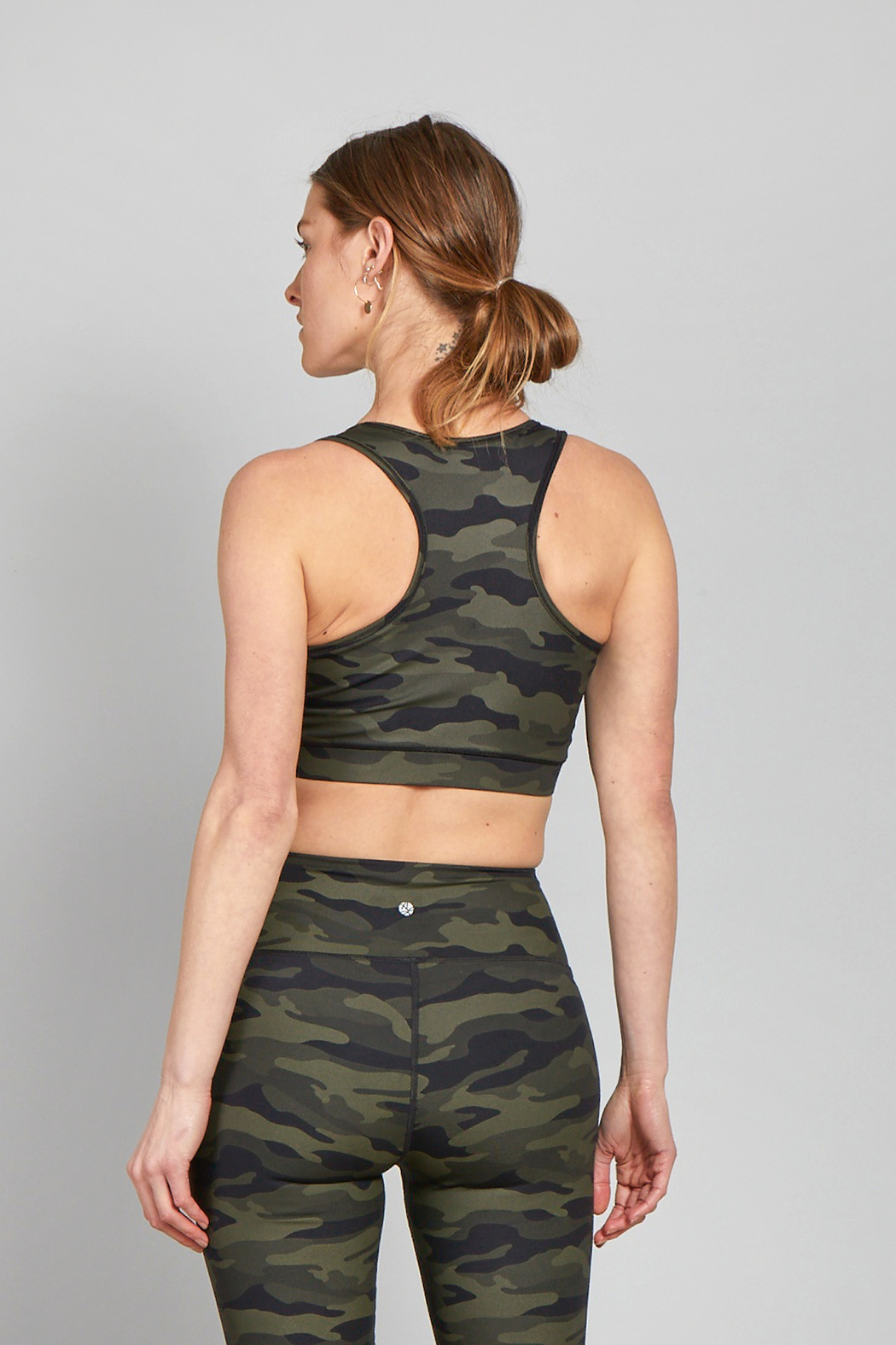 another love  Liberty Athletic Bra - Front Full Image