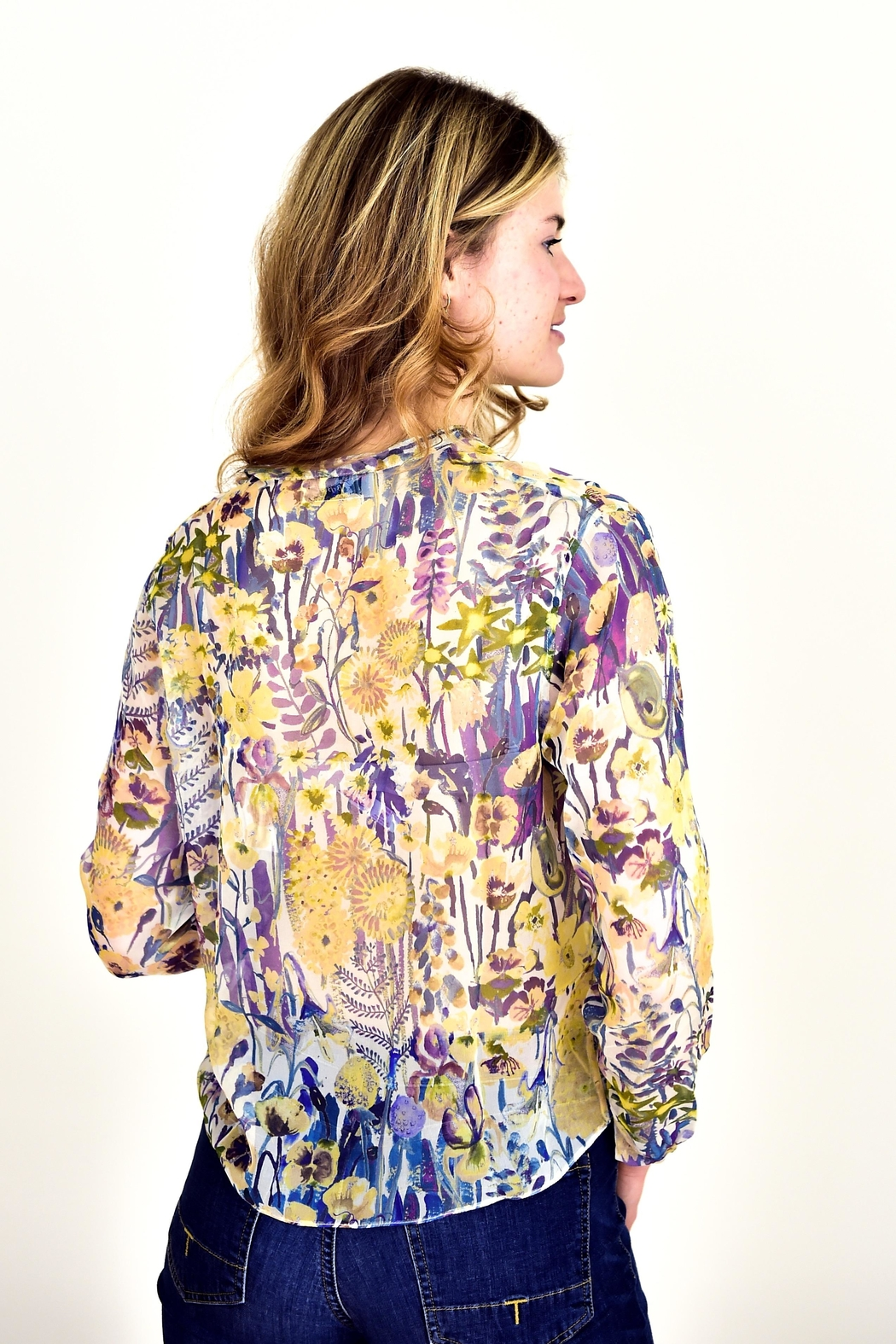 Liberty of London Liberty Silk Shirt - Front Full Image