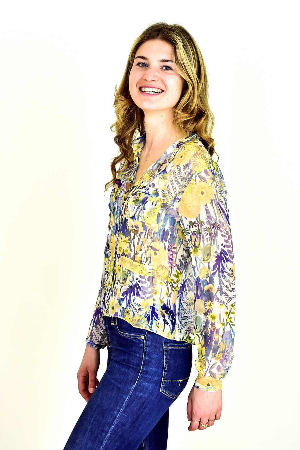 Liberty of London Liberty Silk Shirt - Main Image