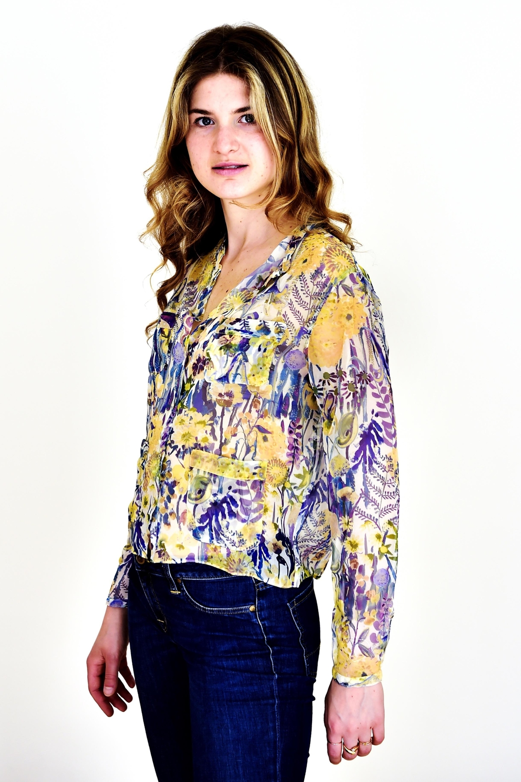 Liberty of London Liberty Silk Shirt - Side Cropped Image