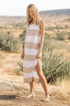 z supply Lida Stripe Dress - Product List Image