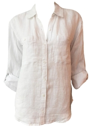 Joie Lidelle Linen Shirt - Product Mini Image