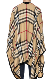 Life Is Beautiful Plaid Wrap - Back cropped