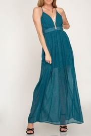 She + Sky Life Of The Party Maxi Dress - Front cropped