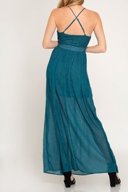 She + Sky Life Of The Party Maxi Dress - Front full body