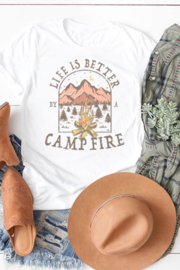 kissed Apparel Life's Better By A Campfire - Product Mini Image