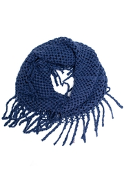 Life Is Beautiful Fringe Tube Scarf - Product Mini Image