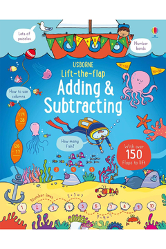 Usborne Lift-The-Flap Adding & Subtracting - Product List Image