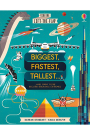 Usborne Lift The Flap: Biggest, Fastest, Tallest... - Product Mini Image