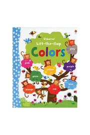Usborne Lift The Flap Colors Book - Product Mini Image
