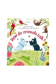Usborne Lift the Flap First Questions and Answers How do Animals Talk - Product Mini Image