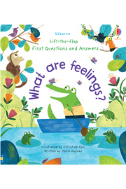 Usborne Lift-the-Flap First Questions and Answers: What are Feelings? - Product Mini Image