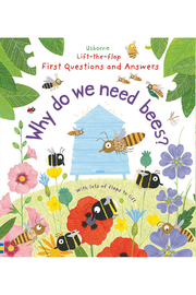 Usborne Lift-the-Flap First Questions and Answers: Why Do We Need Bees? - Product Mini Image