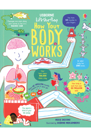 Usborne Lift-The-Flap How Your Body Works - Product Mini Image