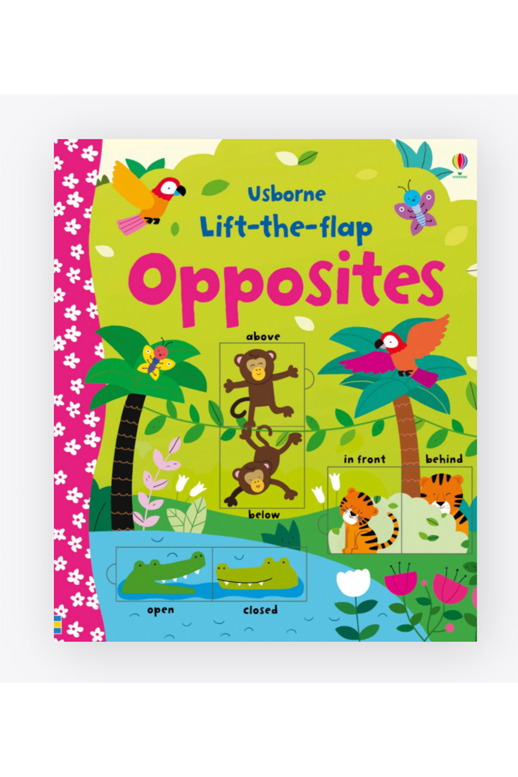 Usborne Lift The Flap Opposites - Front Cropped Image