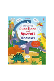 Usborne Lift-the-Flap Questions and Answers About Dinosaurs - Product Mini Image