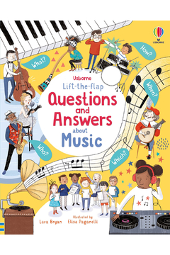 Usborne Lift-The-Flap Questions and Answers About Music - Alternate List Image