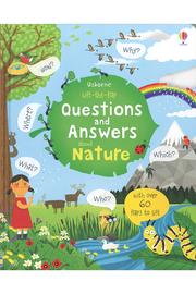 Usborne Lift-the-Flap Questions and Answers About Nature - Product Mini Image