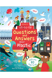 Usborne Lift-the-Flap Questions and Answers About Plastic - Product Mini Image