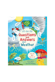 Usborne Lift-the-Flap Questions and Answers About Weather - Product Mini Image