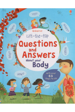 Shoptiques Product: Lift-the-Flap Questions And Answers About Your Body