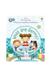 Usborne Lift-the-Flap Very First Questions And Answers: What are Germs? - Product Mini Image
