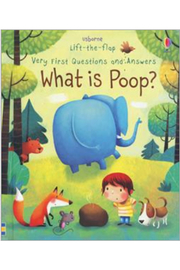 Usborne Lift-the-Flap Very First Questions and Answers: What is Poop? - Product Mini Image