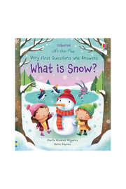 Usborne Lift The Flap Very First Questions & Answers What Is Snow - Product Mini Image