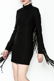 LIFTED Boutique Black Fringe Dress - Product Mini Image