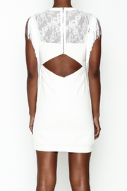 LIFTED Boutique Fringe And Lace Dress - Back cropped