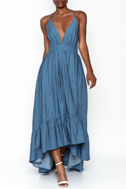 LIFTED Boutique Hi-Low Denim Dress - Product Mini Image