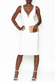 LIFTED Boutique Ivory Bodycon Dress - Product Mini Image
