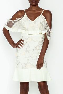 Shoptiques Product: Ivory Floral Dress