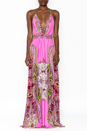 LIFTED Boutique Pink Maxi Dress - Front full body