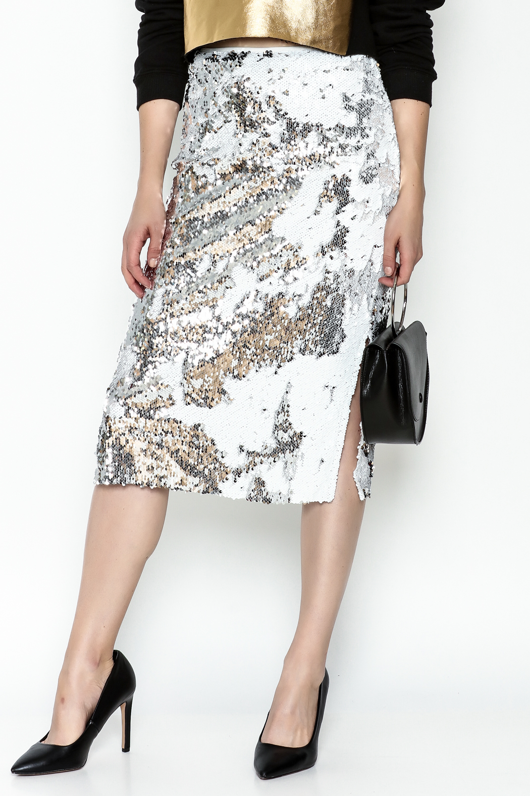 LIFTED Boutique Sequin Skirt - Main Image
