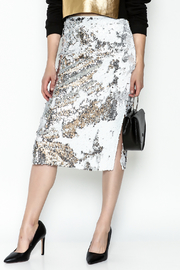 LIFTED Boutique Sequin Skirt - Front cropped