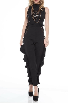 Shoptiques Product: Corset Ruffle Pants