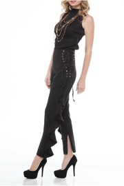 LIFTED Boutique Corset Ruffle Pants - Front full body