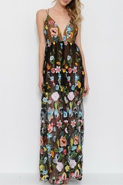 LIFTED Boutique Embroidered Maxi Dress - Product Mini Image