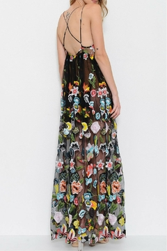 LIFTED Boutique Embroidered Maxi Dress - Alternate List Image