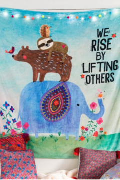 Shoptiques Product: Lifting others up Tapestry Blanket